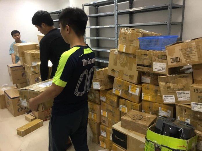 Vận chuyển văn phòng trọn gói Hà Nội