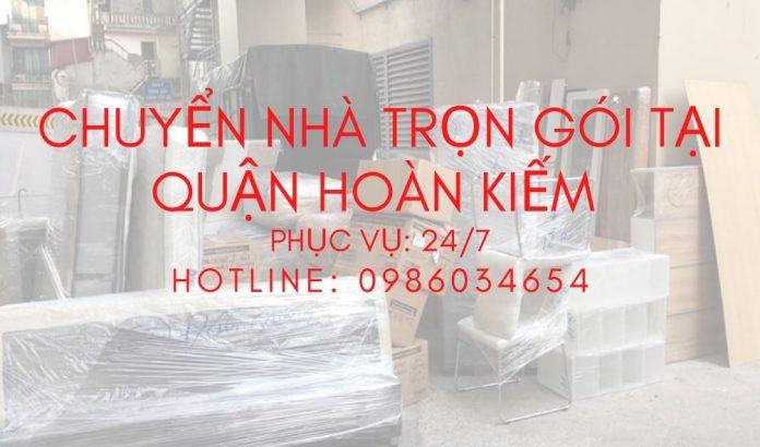 Chuyển nhà tại quận Hoàn Kiếm