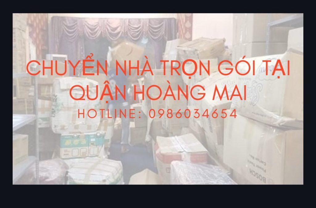Chuyển nhà trọn gói tại Hoàng Mai