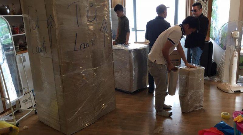Dịch vụ chuyển nhà tại quận Tân Phú - Đơn vị Đại Đoàn