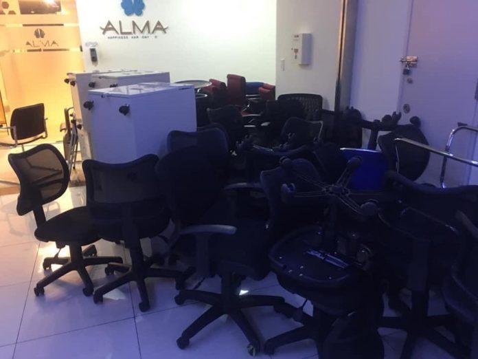 Thu mua ghế văn phòng